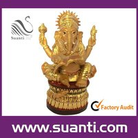 wholesale golden Ganesha-india gods