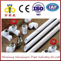 plastic polyethylene water pipe and fitting with best price