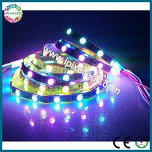 Programmable smd 3535 rgb narrow 4mm wide led strip with ic ws2811