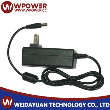 9V 2A 18W Plug In AC To DC Switching Mode Power Supply Adapter