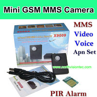 Quad band gsm mini camera with PIR Alarm function