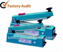 bag hand sealing machine with cutter
