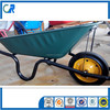 Qingdao manufacturer solid tyre wheel barrow