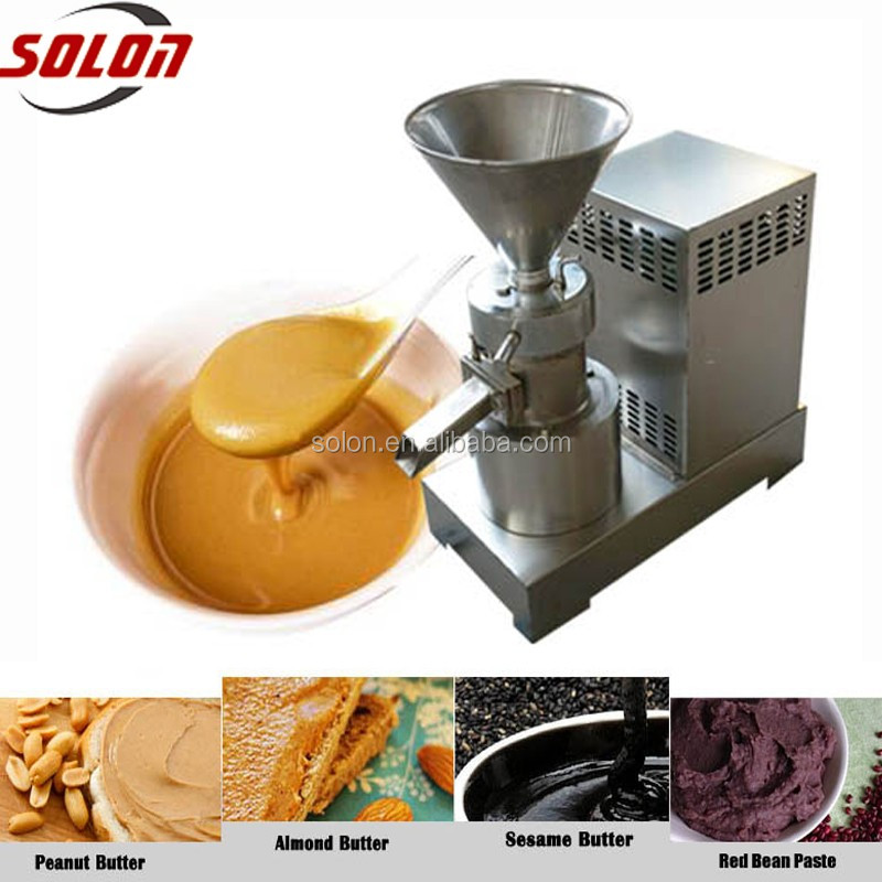 Solon Factory Automatic cocoa bean grinder machine small scale paste processing line
