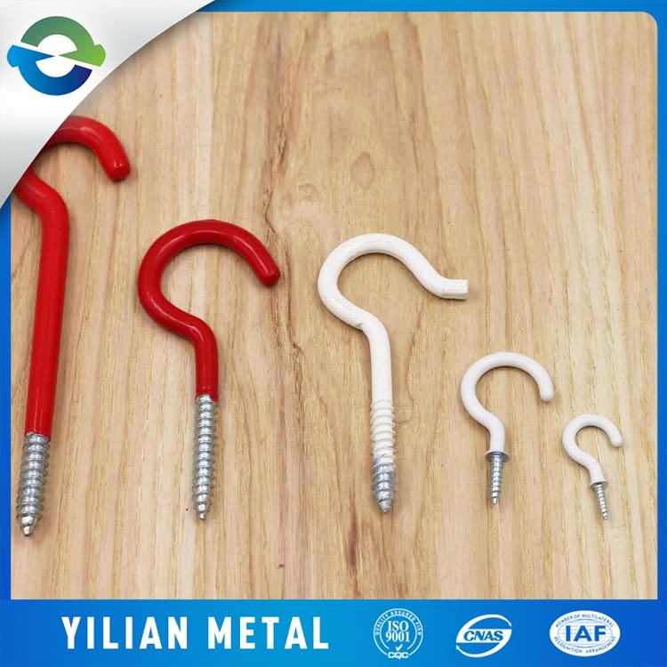 Chinese manufacturers supply wall mounted plastic hanger hook metal hook for hanger