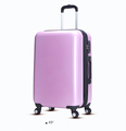 Fashion light purple abs travel luggage abs luggage for holiday