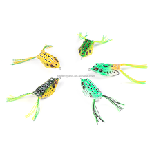 Outdoor Fishing Hooks Crankbaits Lures Fluorescent Simulation Ray Frog lures