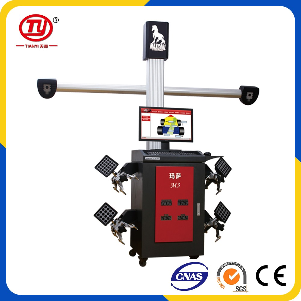 New Designed Automatic Car Wheel Alignment Machine Price With Ce