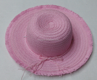 Wholesale summer child sun shade straw hat