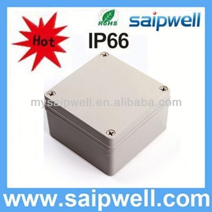 2013 New plastic electronics project box IP66 125*125*75mm