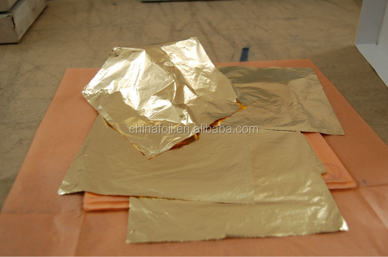 dutch gold foil for gilding and decorating furniture frame ceiling from chinese manufacturer