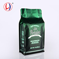 Flat Bottom Ziplock Coffee Packaging Bags For Custom Printed