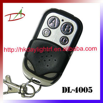 ABCD button customized logo wireless home alarm remote