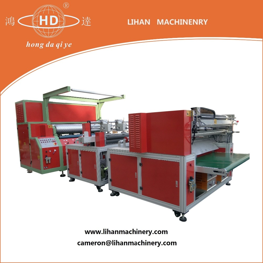 Ultrasonic compositing, slitting and cutting machine