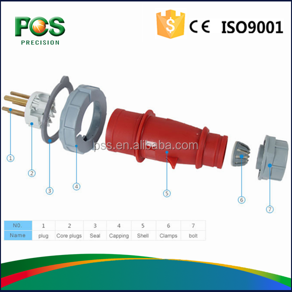 Best sale IP44 380V 440V IEC Industry <strong>Plug</strong>