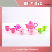 Promotional cheap tea set toy for wholesale