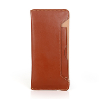 "universal leather mobile phone wallet case for 4.7"" to 6"" cell phone , for iphone cover"