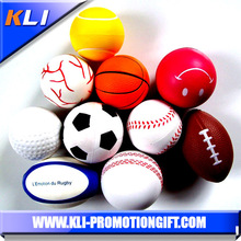 China high quality customized pu anti stress ball with custom logo