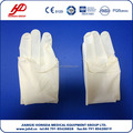 Sterile powder surgical glove for single use