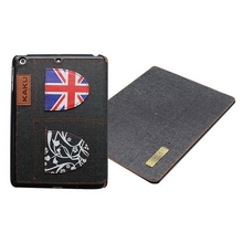 Newest most popular pu leather case cover for ipad air mini