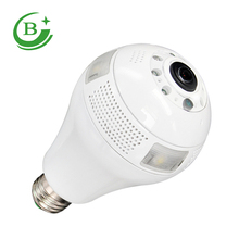 Alibaba Newest design 360 degree led wifi bulb camera light