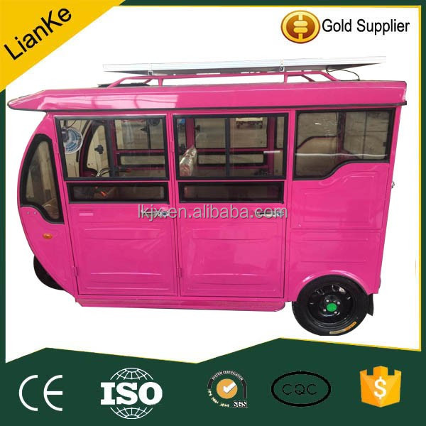 solar electric tricycle for passenger/electric tricycle rickshaw/electric tricycle taxi