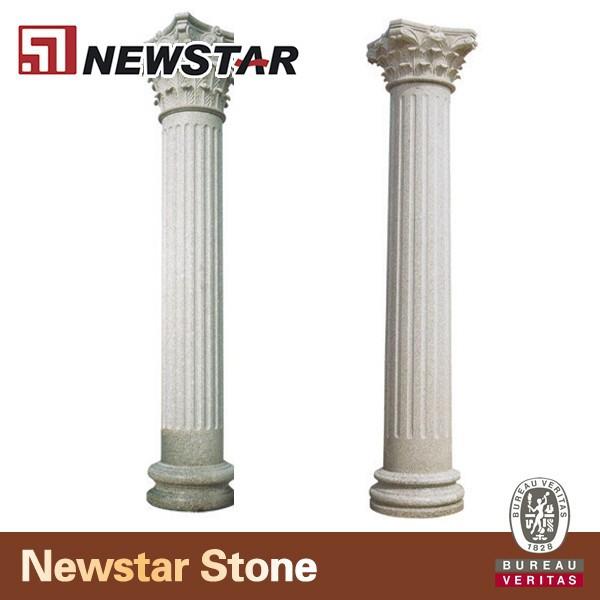 Grey Stone Pillars : Gris granit porte pilier pierre colonne romaine
