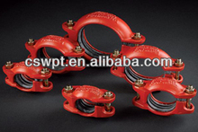 FM UL approved galvanized steel pipe fittings name