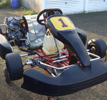 low price Mini Kids Racing petrol go karts with one seat and two seat