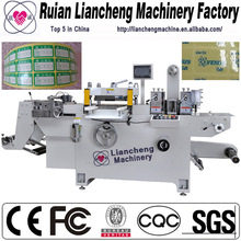 2014 Best plastic sheet creasing and die cutting machine