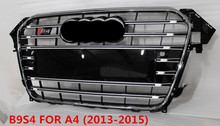 Custom auto front grille for audi a4 front grill s4 b9