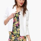Women OL Style Short Slim Fit Blazer Candy Color Top for Wholesale and Free Shipping Haoduoyi