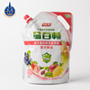 Aluminum Foil plastic large fruit juice liquid spout pouch packaging bag for beverage