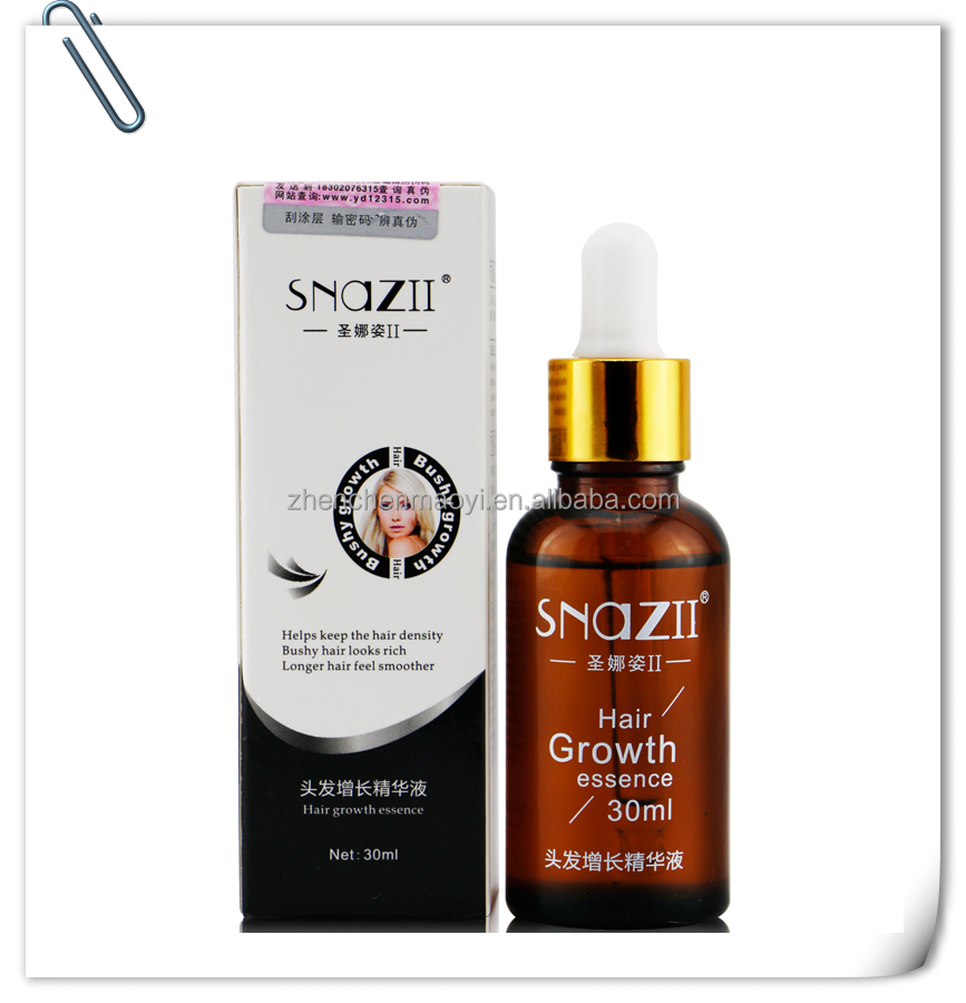 2015 Hot Selling!! China SNAZII Hair Growth Essence Oil/ Anti Hair Promotes Hair Growth Serum