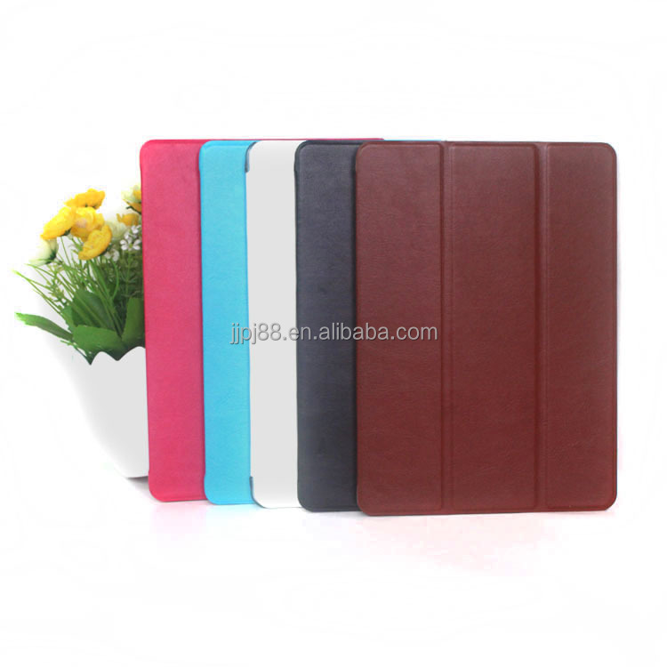 Customized logo print leather tablet case for ipad 5 Protective Case