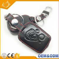 2 Button Leather Car Remote Shell Key Holder Case Cover Malaysia For Proton 415 416 Persona
