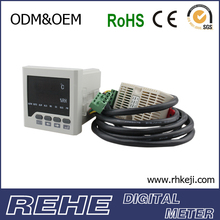 Controller for temperature and humidity sensor stop digital meter