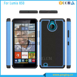 Newest case 3 in 1 PC + Silicone hard case cover for nokia Lumia 850 , back cover case for nokia Lumia 850