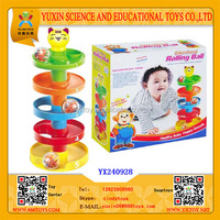 Funny educational plastic baby rolling ball