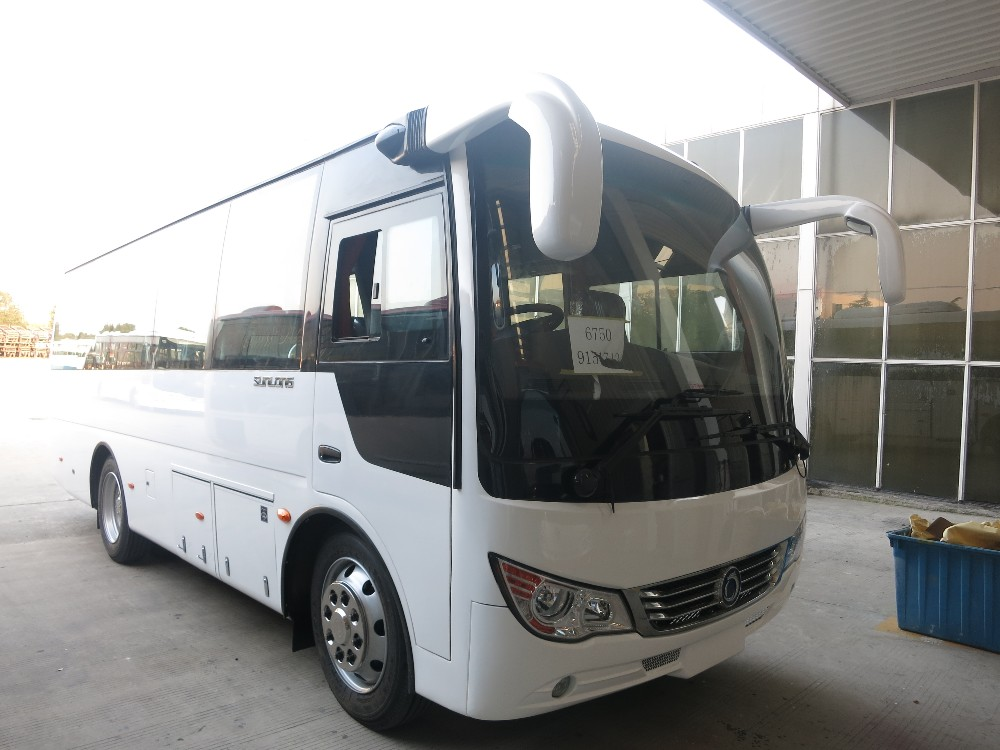 mini passenger bus with bus driver seat cushion SLK6750