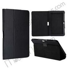 "11.6"" Exquisite Lichee Texture Folio Leather Case Cover for Samsung ATIV Smart PC XE500T with Stand"