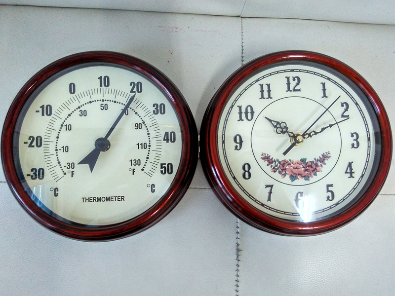 antique double sided station clockwater resistant indoor outdoor clockgarden decoration two sided