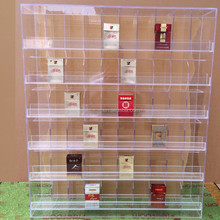 Fancy Crystal Acrylic Material Clear Acrylic Tiers Display Shelf