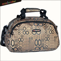 "promotional ready stock 16"" lady bags carry fashion travel bag light weight duffel bag"