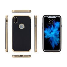 Oem and Odm dropship original protective TPU PC Hybrid shockproof 2 in 1 custom bumblebee cell phone coque case for iPhone X
