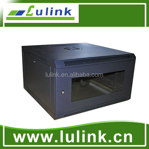4U/6U/9U Small wall mounted network cabinet, server rack , dustproof network cabinet