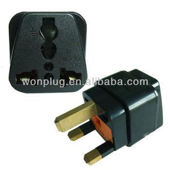 Bs 1363 Uk Plug Adapter 3 Pin Uk Adapter Plug Universal