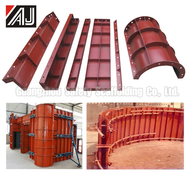 Used Wall Formwork (Steel Concrete Formwork For Wall, Slab, Beam, Column)