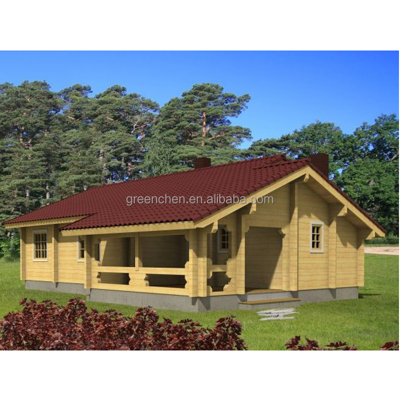 Green Chen prefabricated wood frame house price