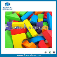 good reputation shanghai factory supply high-density eva foam building blocks